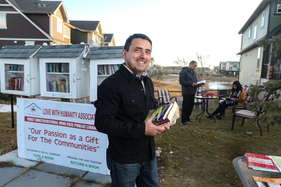 Calgarian's tiny free multicultural libraries spreading to other communities