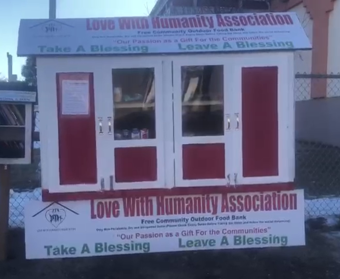 Our 5th Free Community Outdoor Food bank
