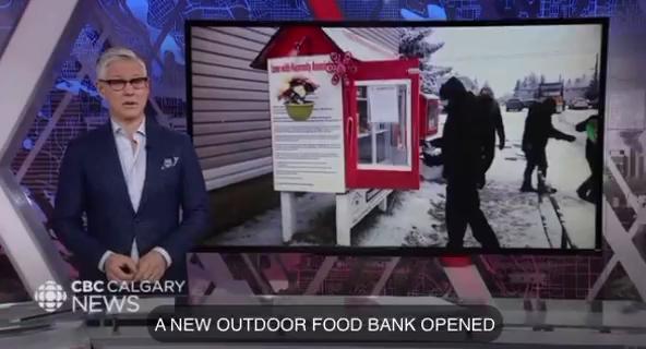 New Outdoor Food Bank Opened
